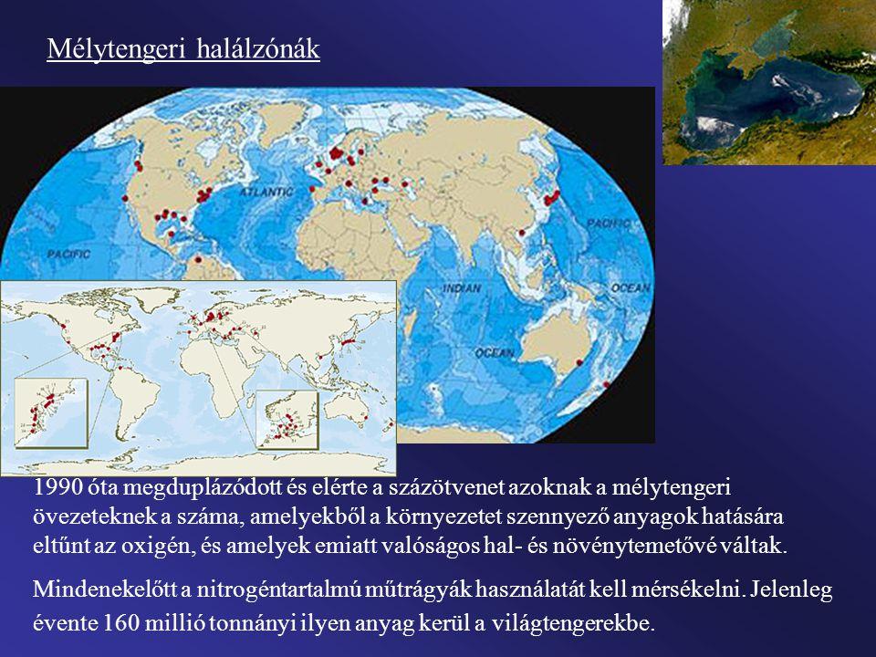 Mélytengeri halálzónák