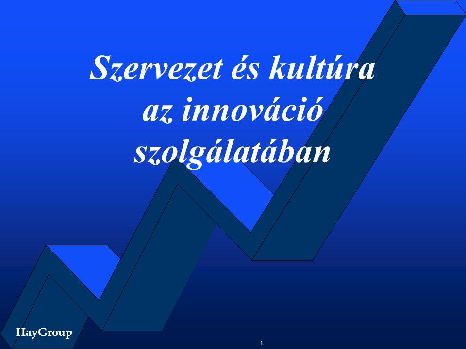 Szervezet és kultúra az innováció szolgálatában