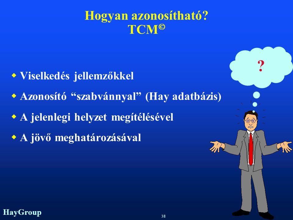 Hogyan azonosítható TCM