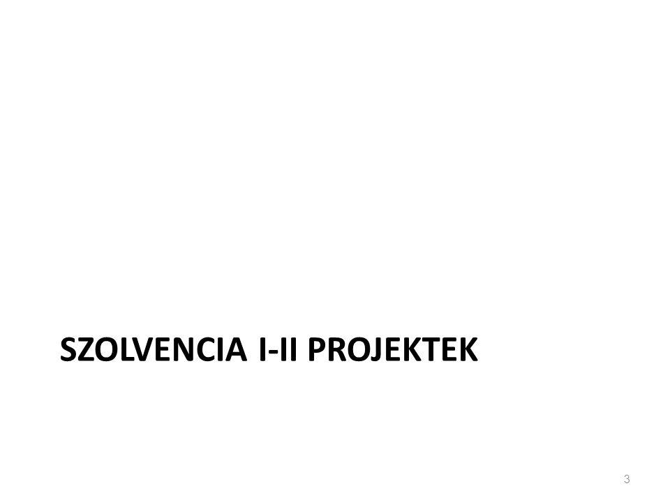 Szolvencia I-II projektek