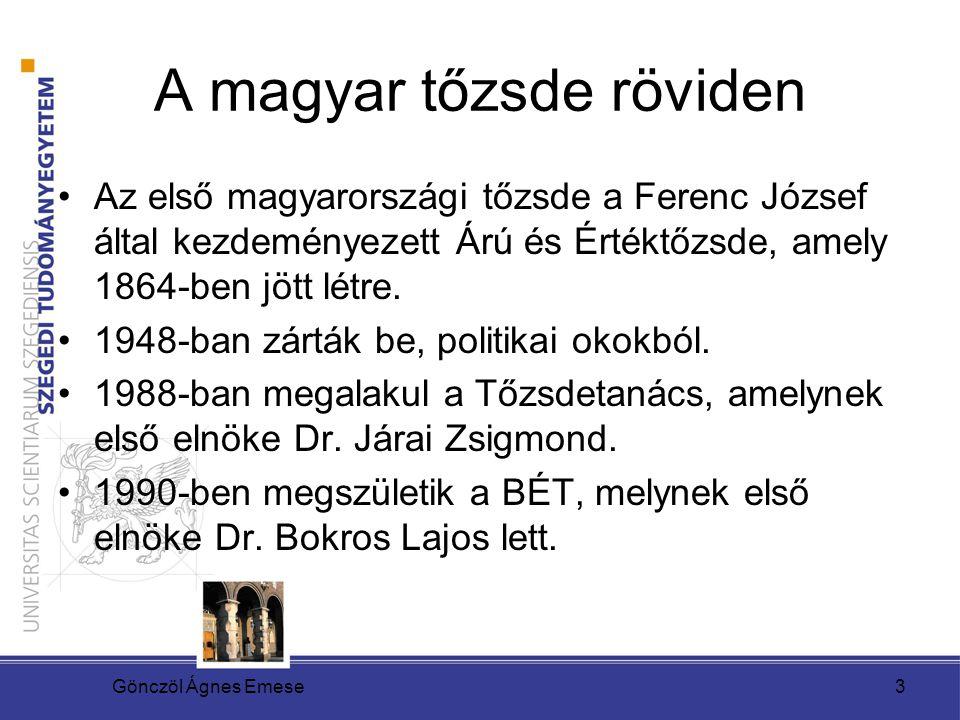 A magyar tőzsde röviden