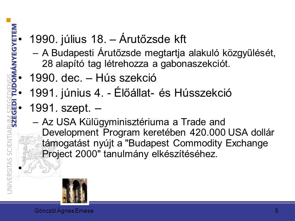 1991. június 4. - Élőállat- és Hússzekció 1991. szept. –