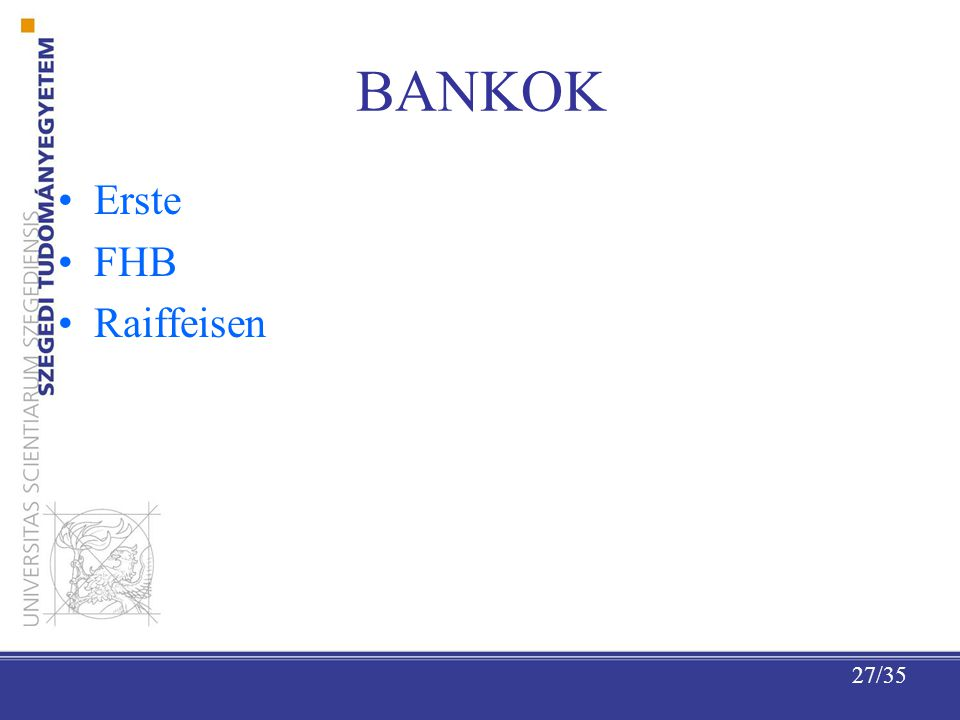 BANKOK Erste FHB Raiffeisen