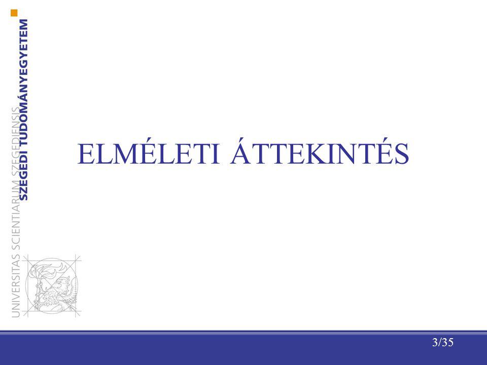 ELMÉLETI ÁTTEKINTÉS