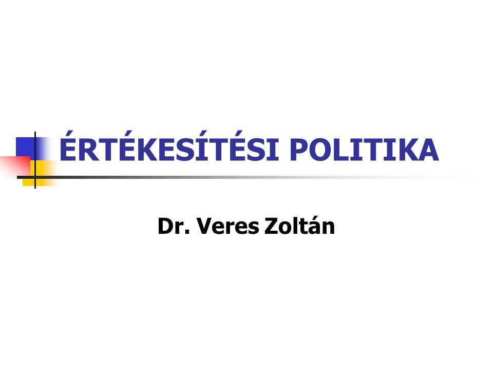 ÉRTÉKESÍTÉSI POLITIKA
