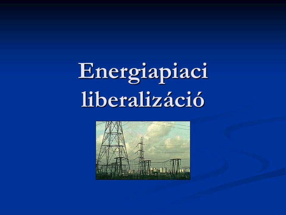 Energiapiaci liberalizáció