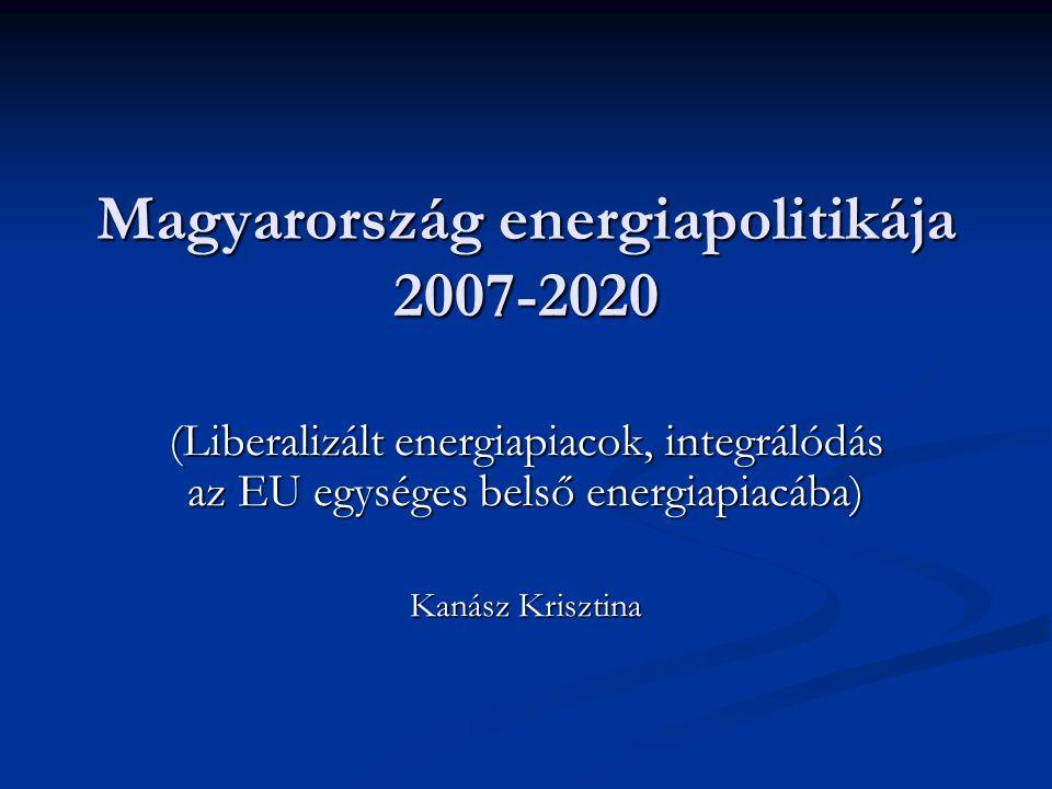 Magyarország energiapolitikája 2007-2020