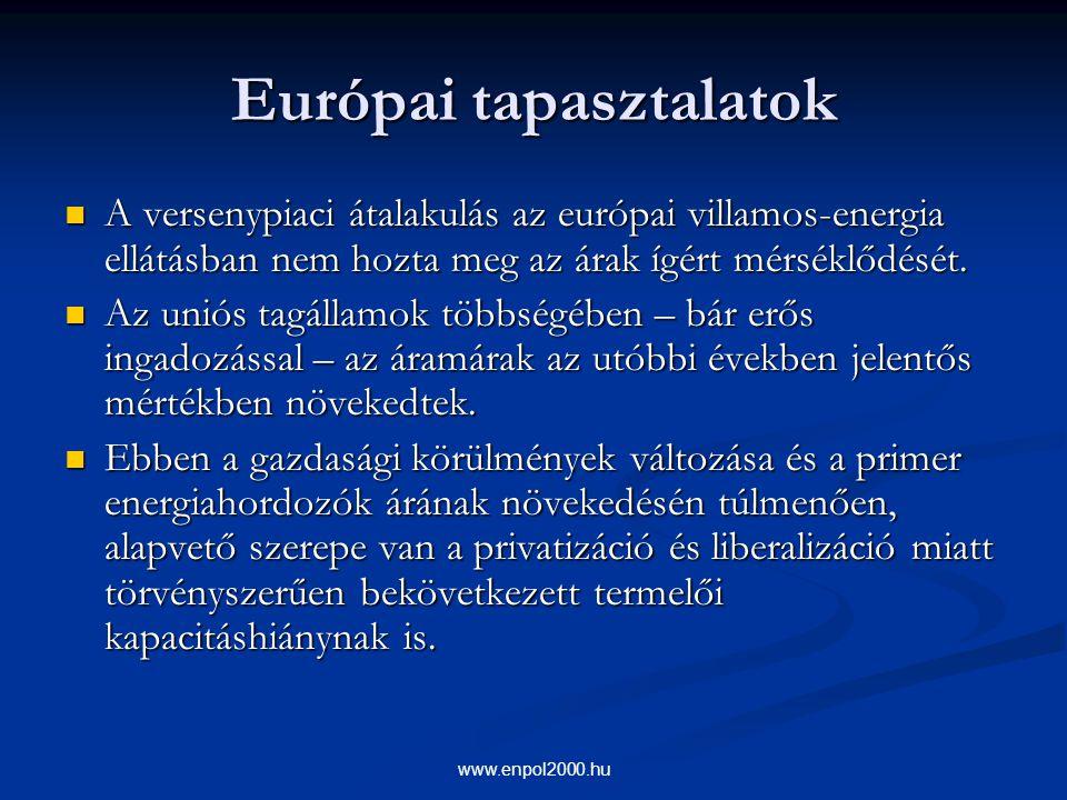 Európai tapasztalatok