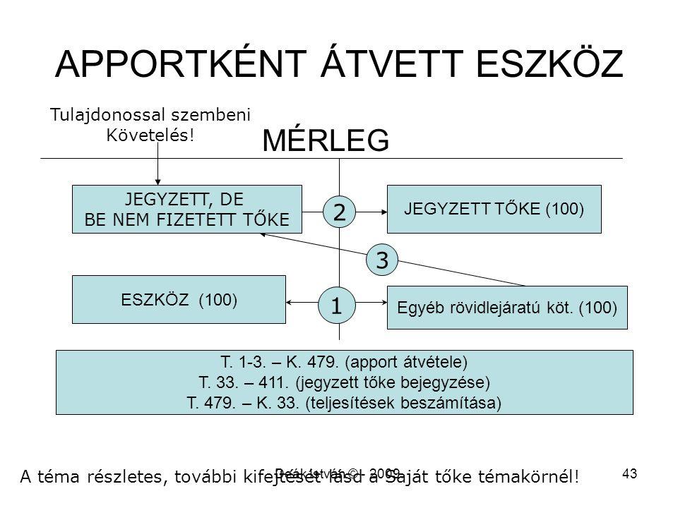 APPORTKÉNT ÁTVETT ESZKÖZ