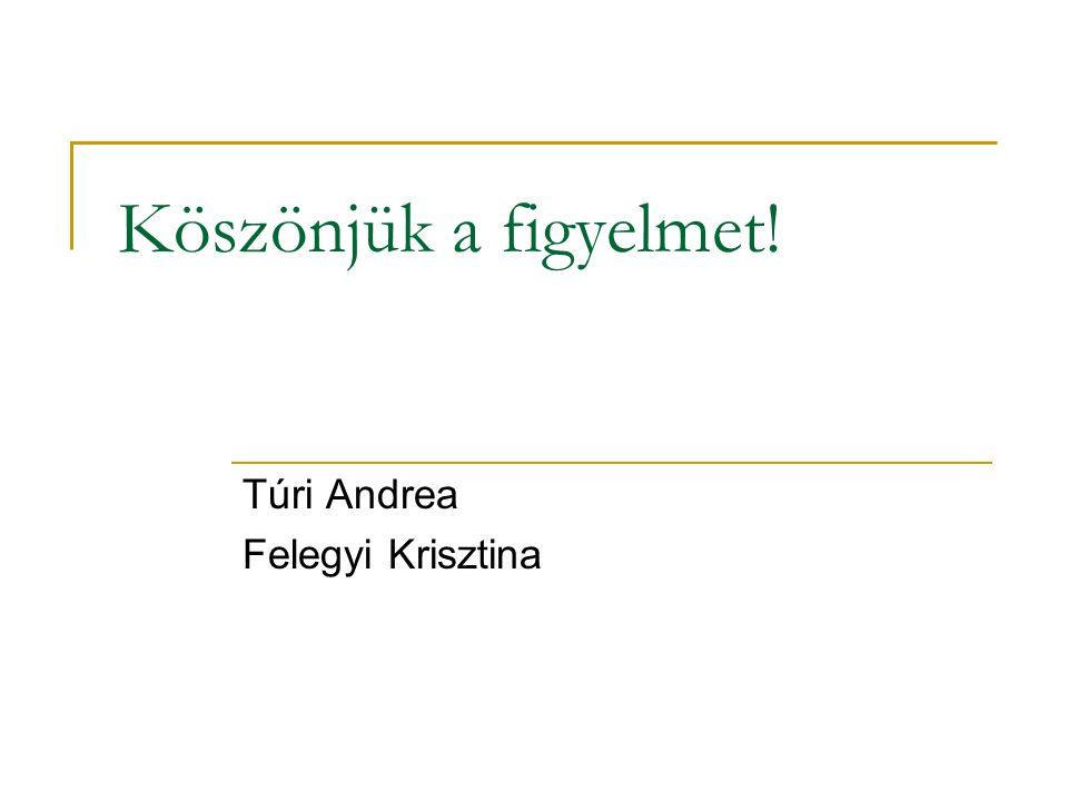 Túri Andrea Felegyi Krisztina