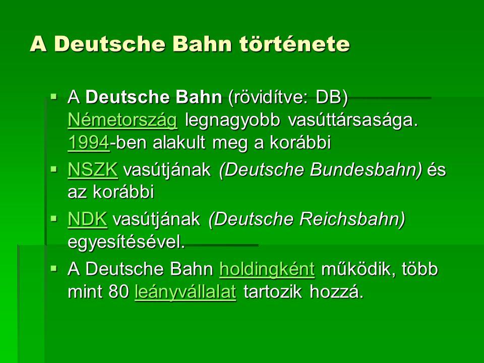 A Deutsche Bahn története