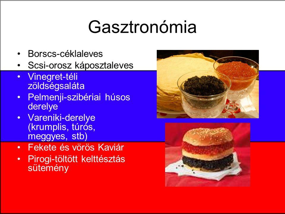 Gasztronómia Borscs-céklaleves Scsi-orosz káposztaleves