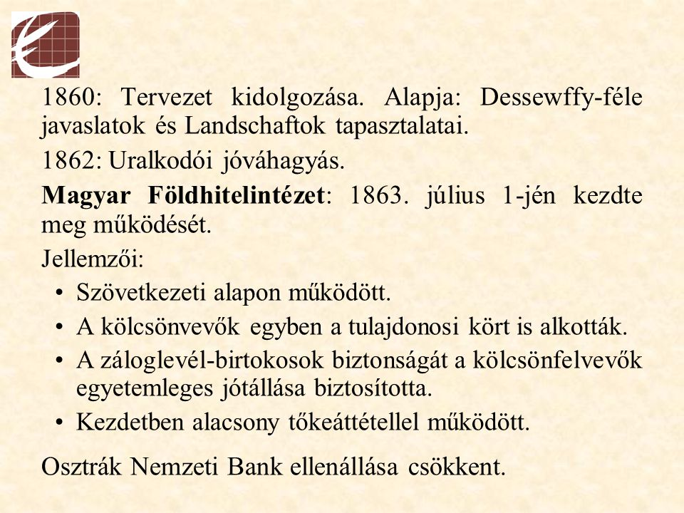 1862: Uralkodói jóváhagyás.