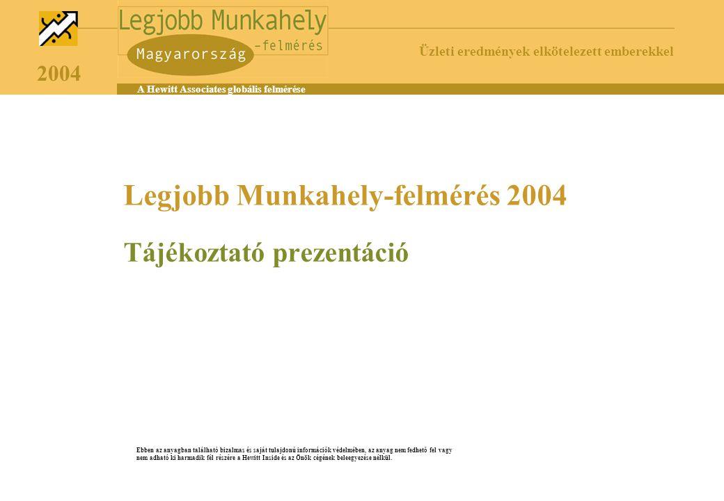 Legjobb Munkahely-felmérés 2004