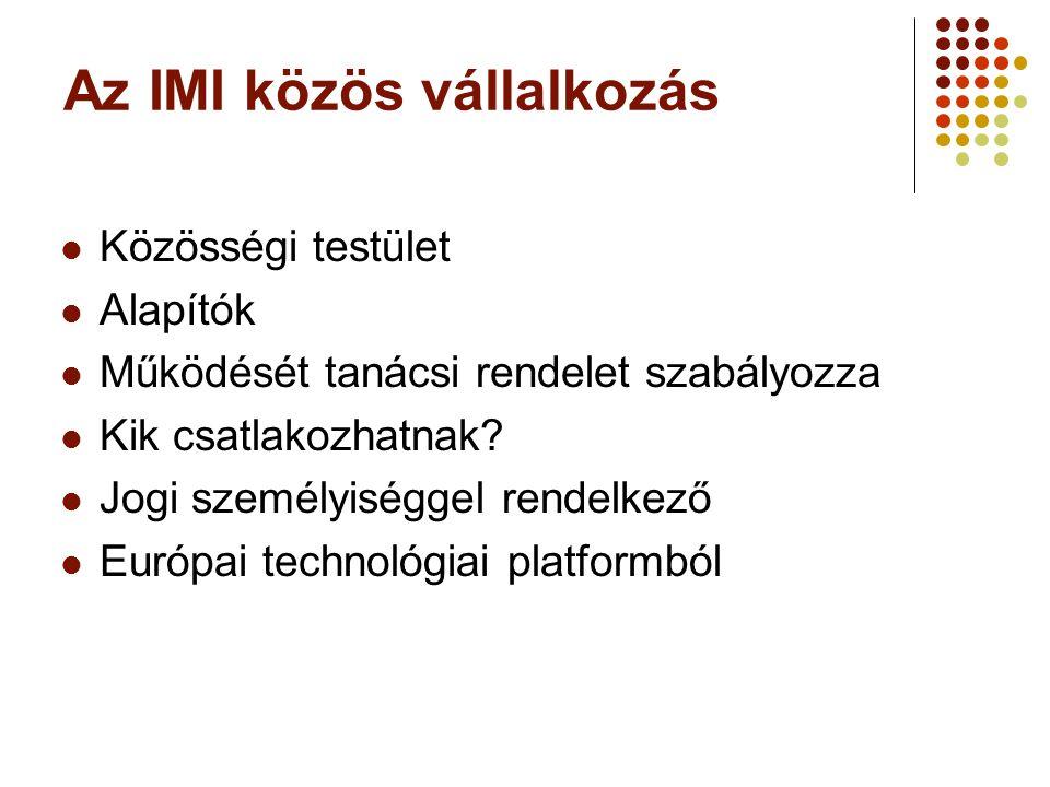 Az IMI közös vállalkozás