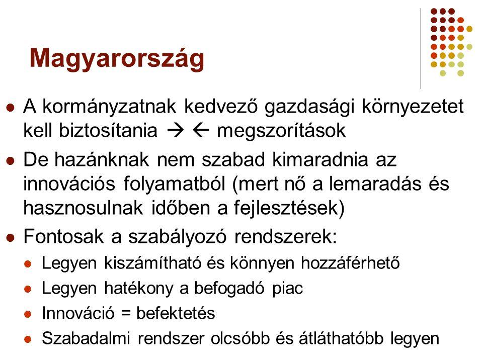 Magyarország A kormányzatnak kedvező gazdasági környezetet kell biztosítania   megszorítások.
