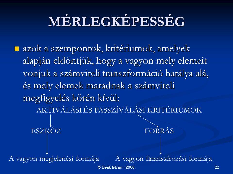 MÉRLEGKÉPESSÉG