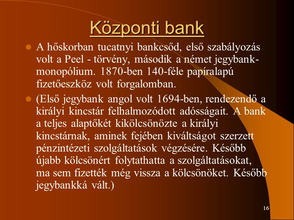 Központi bank