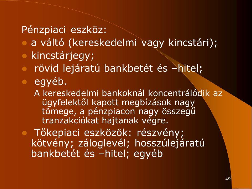 a váltó (kereskedelmi vagy kincstári); kincstárjegy;