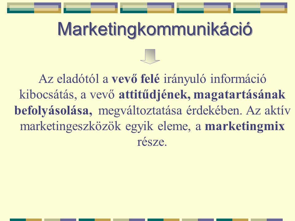 Marketingkommunikáció