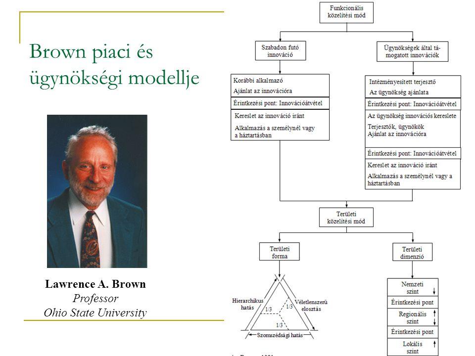 Brown piaci és ügynökségi modellje