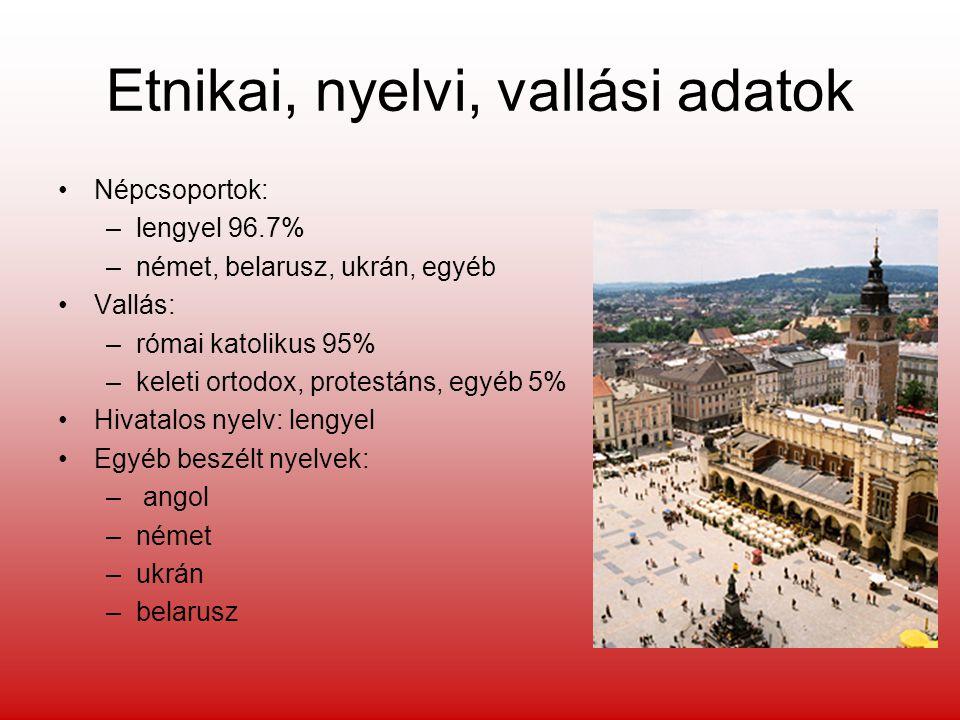 Etnikai, nyelvi, vallási adatok