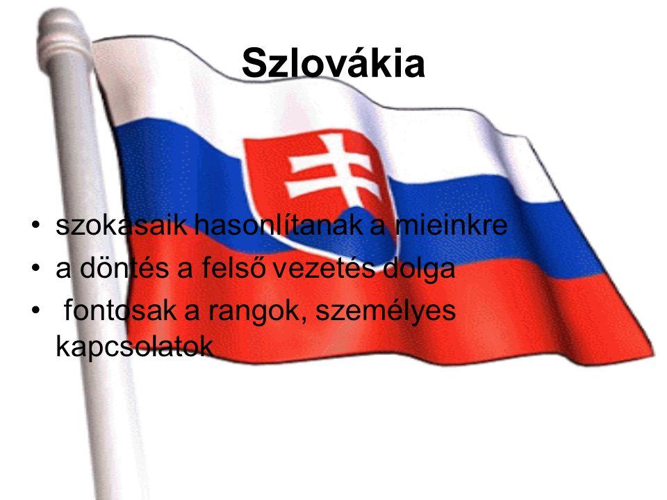 Szlovákia szokásaik hasonlítanak a mieinkre