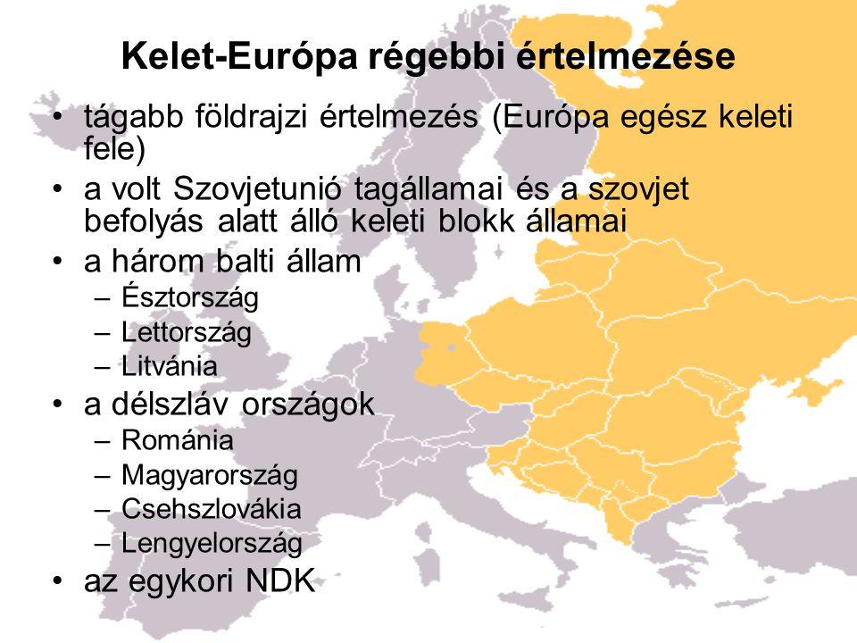 Kelet-Európa régebbi értelmezése