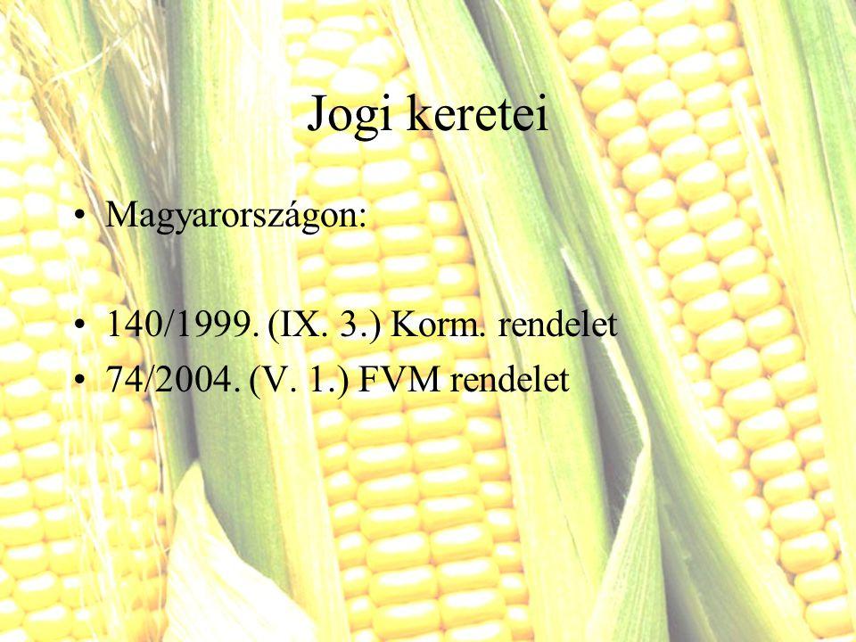 Jogi keretei Magyarországon: 140/1999. (IX. 3.) Korm. rendelet