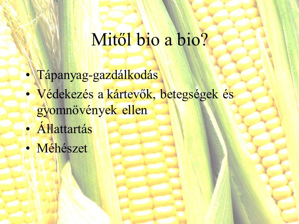 Mitől bio a bio Tápanyag-gazdálkodás