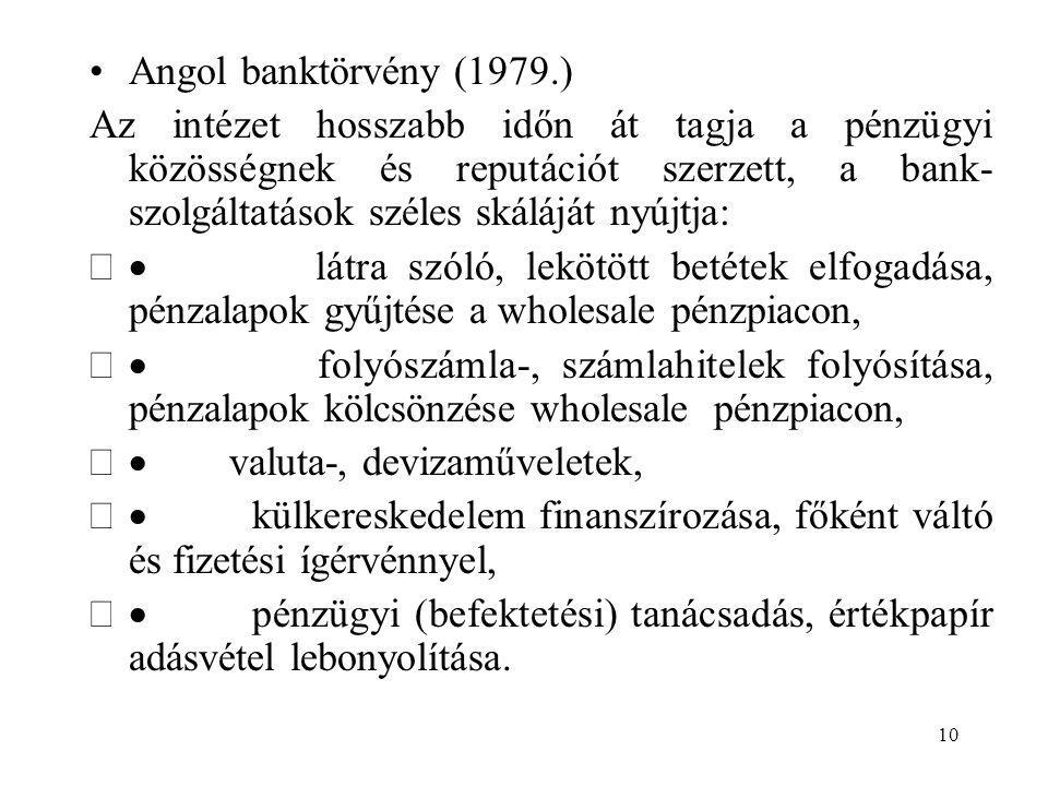 Angol banktörvény (1979.)