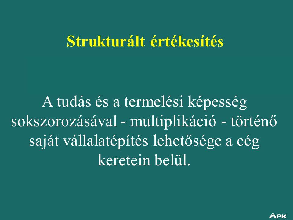Strukturált értékesítés