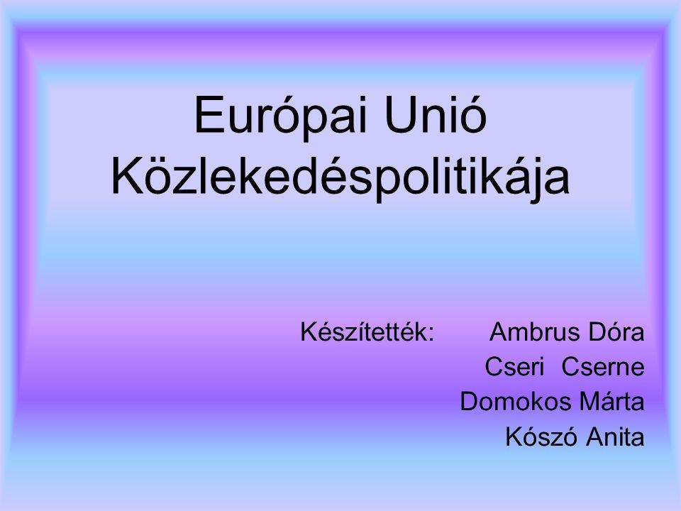 Európai Unió Közlekedéspolitikája