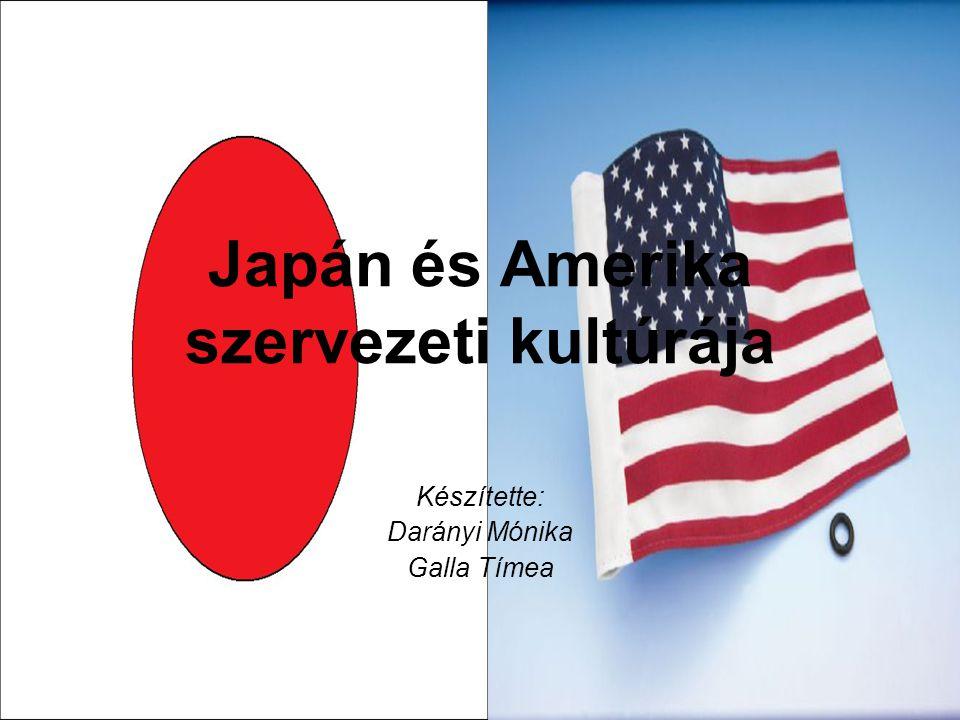 Japán és Amerika szervezeti kultúrája