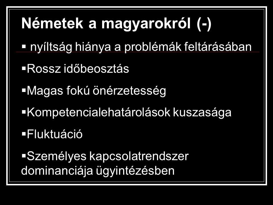 Németek a magyarokról (-)