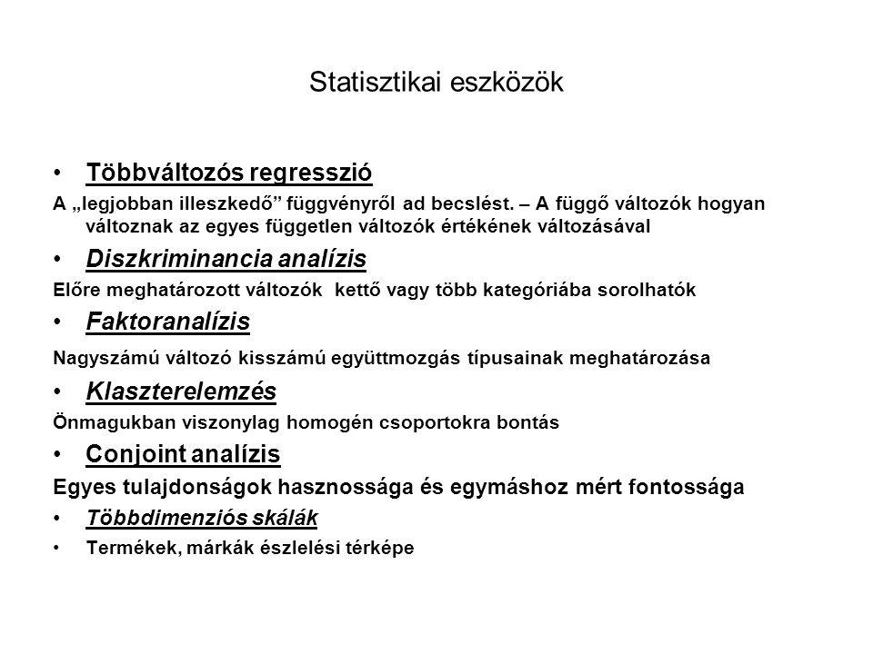 Statisztikai eszközök