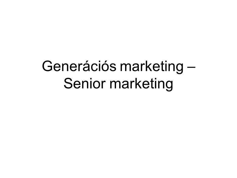 Generációs marketing – Senior marketing
