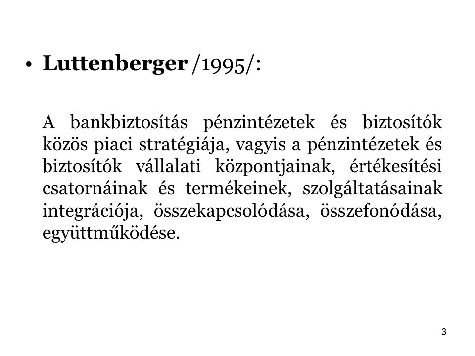 Luttenberger /1995/: