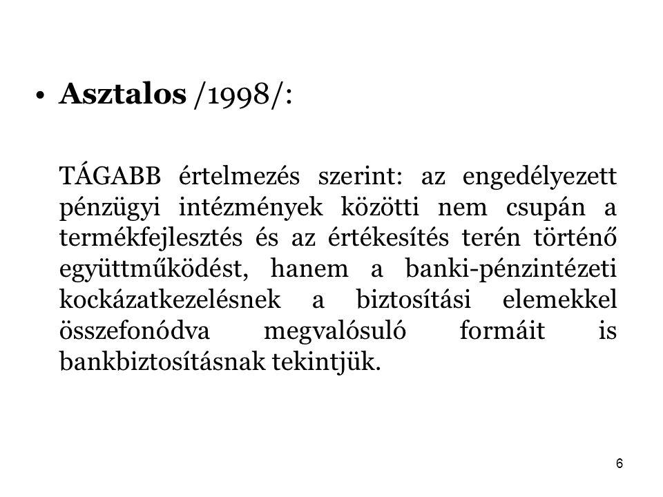 Asztalos /1998/:
