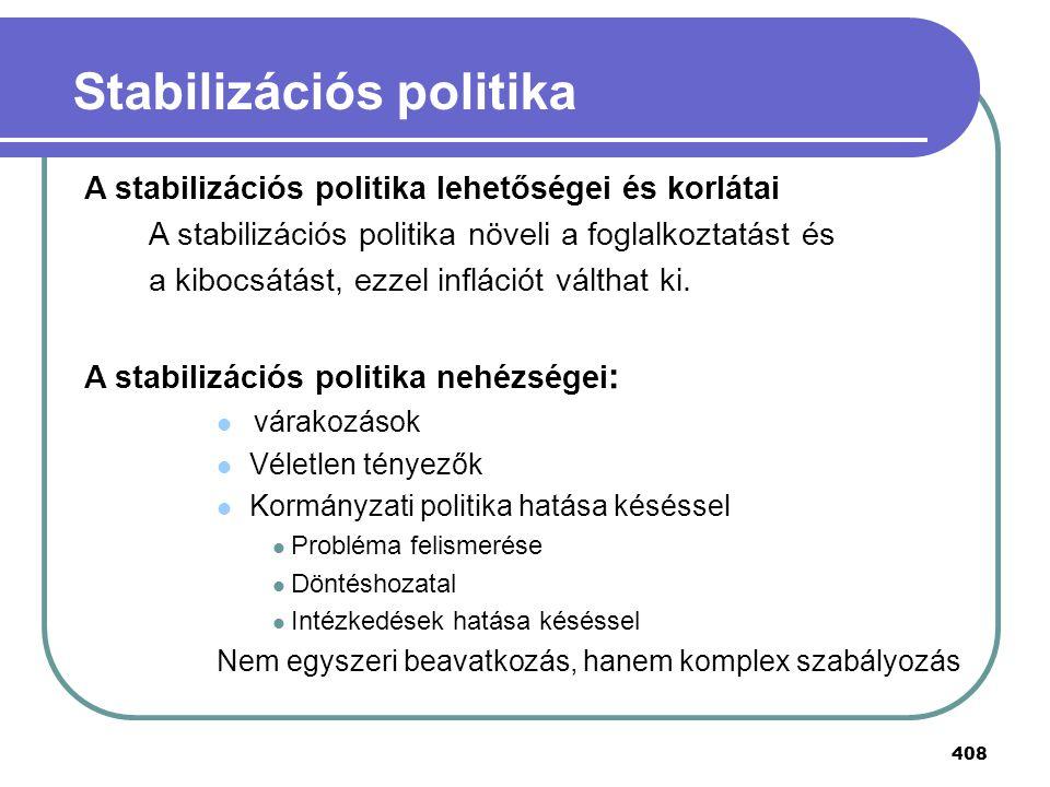 Stabilizációs politika