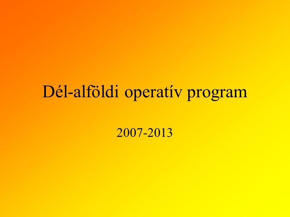 Dél-alföldi operatív program
