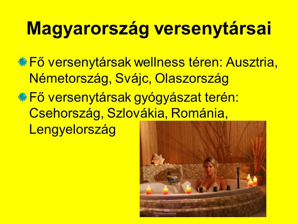 Magyarország versenytársai