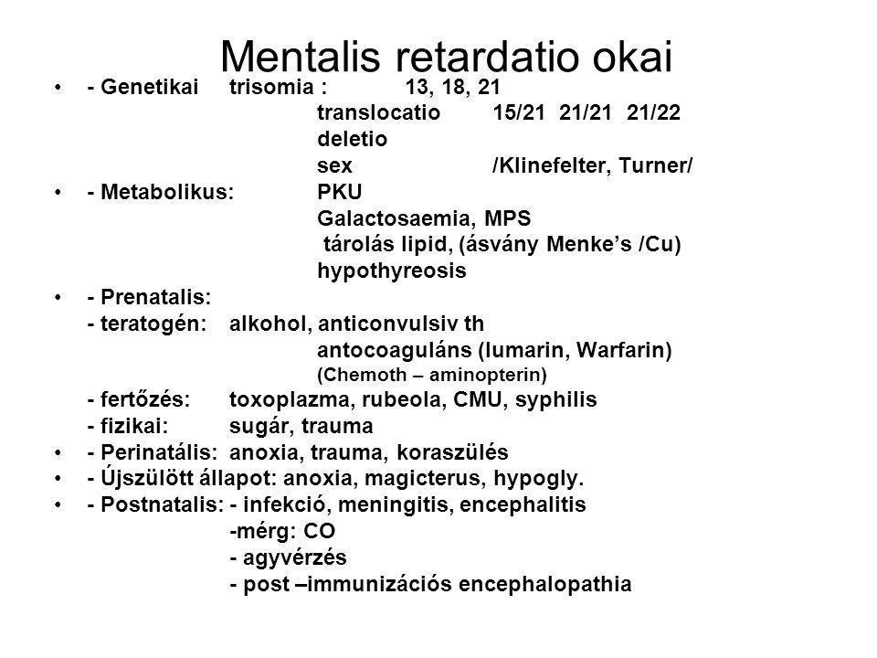 Mentalis retardatio okai