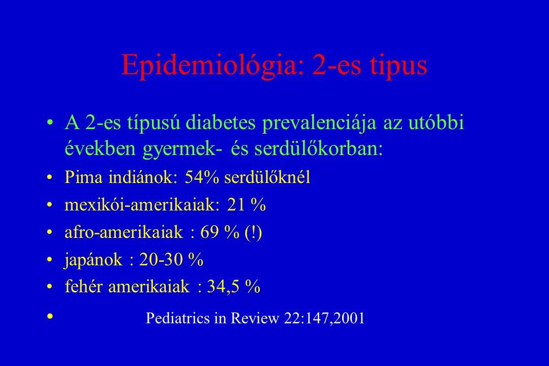 Epidemiológia: 2-es tipus