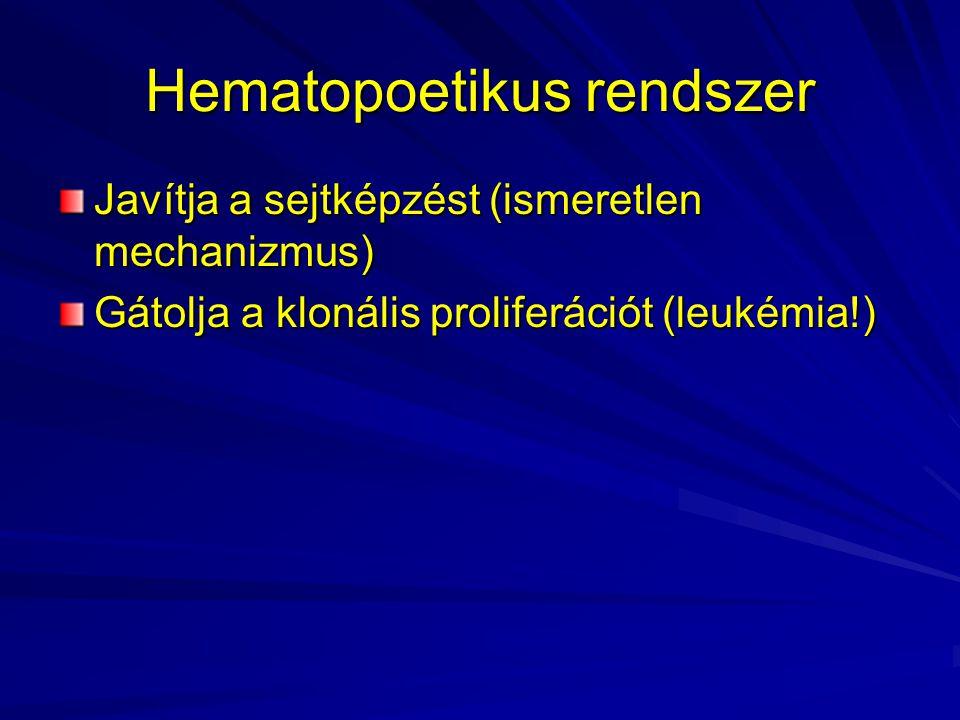 Hematopoetikus rendszer