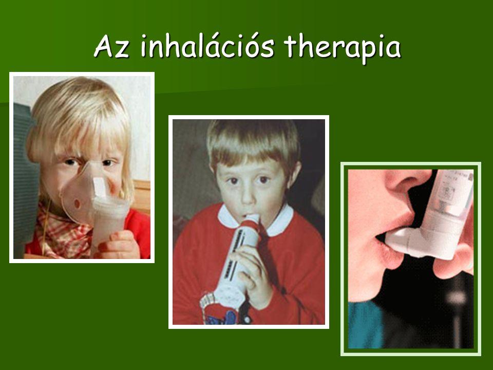 Az inhalációs therapia