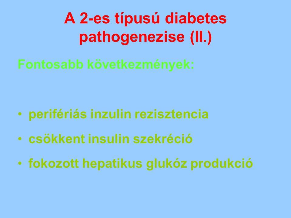 A 2-es típusú diabetes pathogenezise (II.)