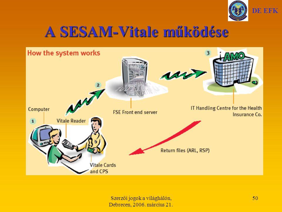 A SESAM-Vitale működése