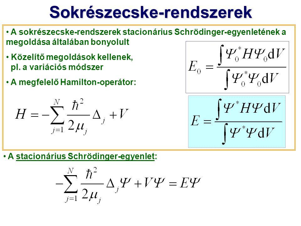 Sokrészecske-rendszerek