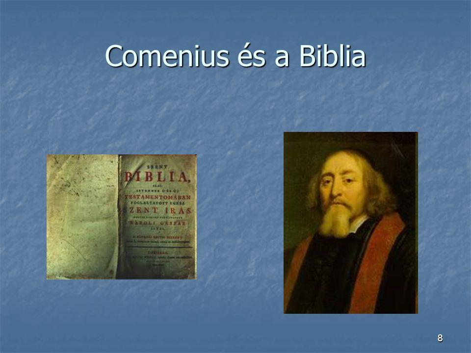Comenius és a Biblia